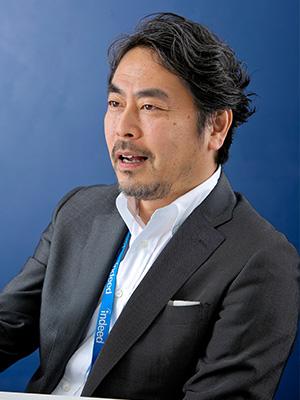 Indeed Japan 高橋信太郎さん インタビューの様子
