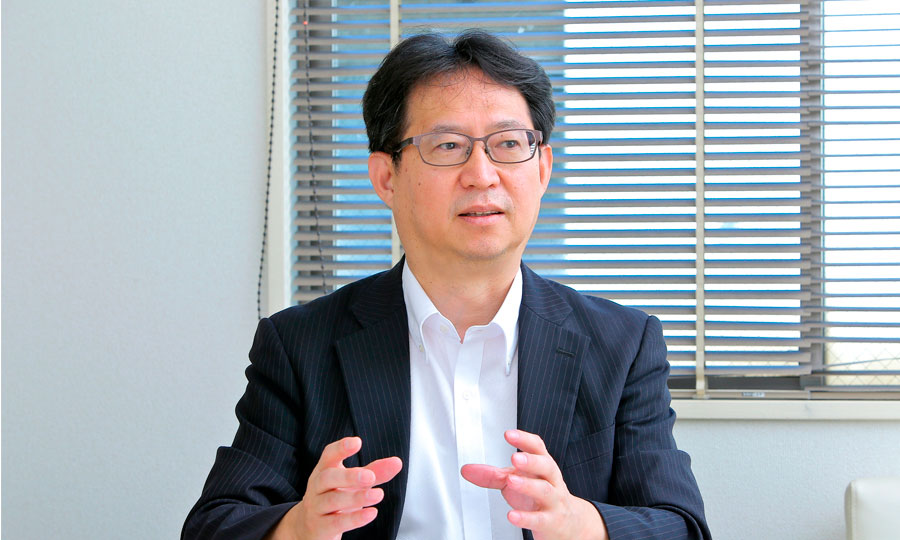 慶應義塾大学大学院経営管理研究科 特任教授 岩本隆さん 対談の様子