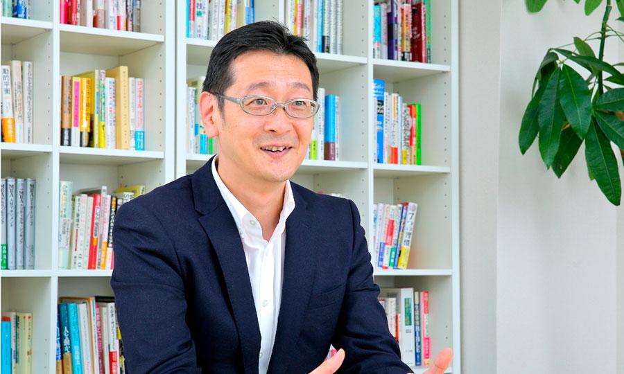 株式会社ホープス 代表取締役社長 坂井伸一郎さん 対談の様子