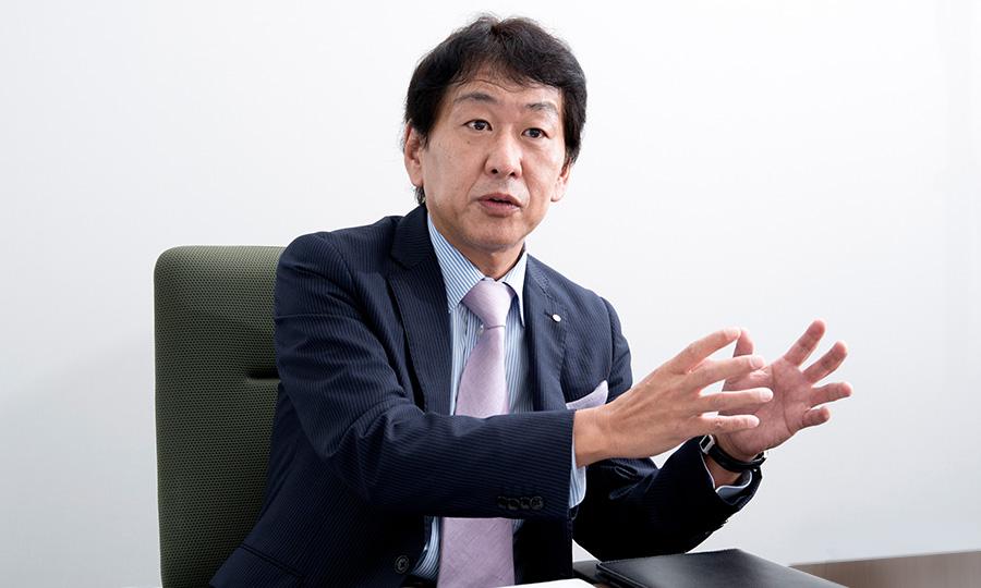 カゴメ株式会社 有沢 正人さんと株式会社GABA 佐川 功一さん対談の様子