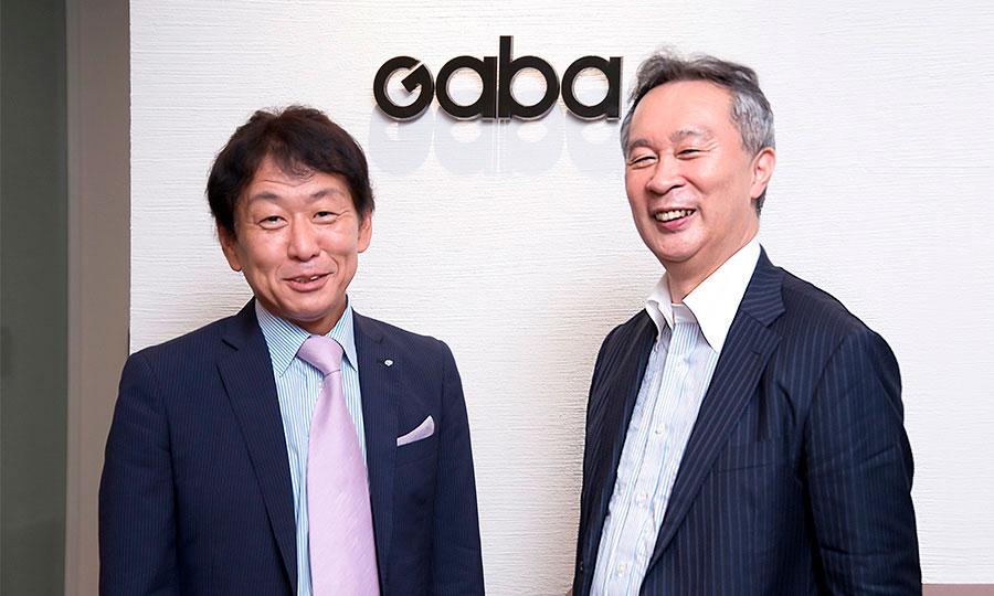 カゴメ株式会社 有沢 正人さんと株式会社GABA 佐川 功一さん Photo