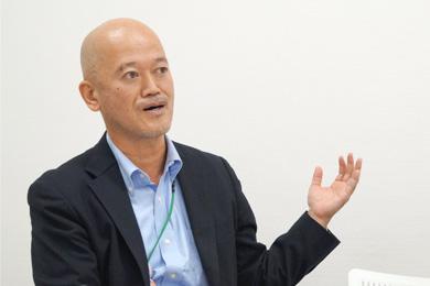株式会社ダイナシティ 管理本部 本部長 浅石 文敏さん Photo