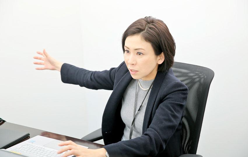 株式会社リクルートホールディングス リクルートHR研究機構 iction!事務局長 二葉 美智子さん photo