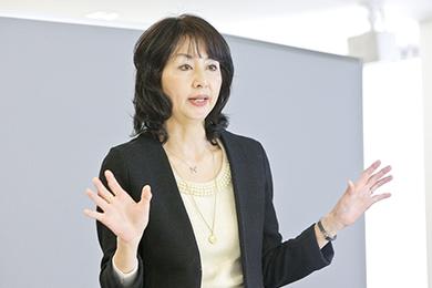立教大学大学院 ビジネスデザイン研究科(MBA)教授 中川有紀子氏 photo