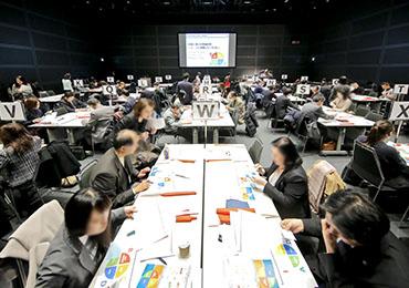 参加者同士によるグループワークの様子「TOKYO 働き方改革宣言企業」交流会にて