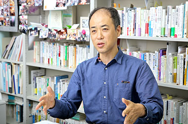 法政大学大学院 政策創造研究科 教授  石山恒貴さん