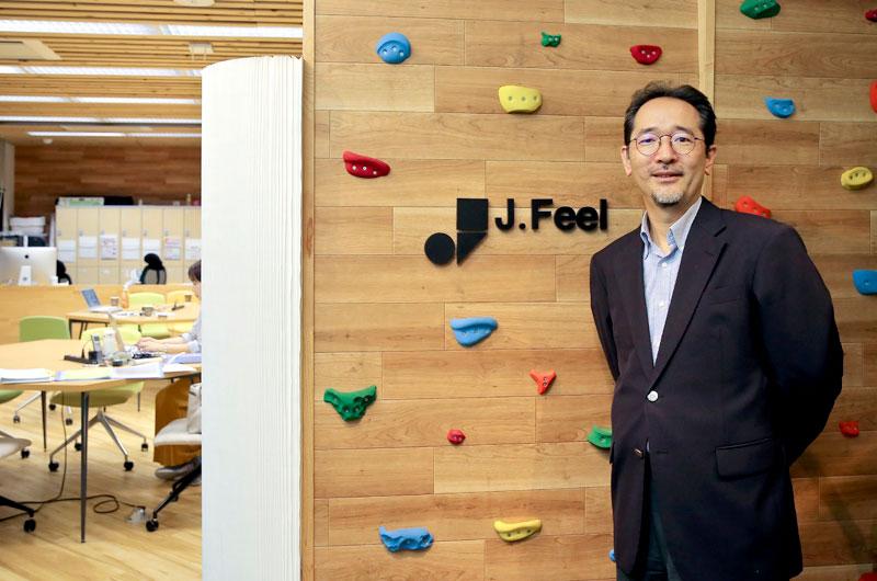 株式会社ジェイフィール 高橋克徳氏photo
