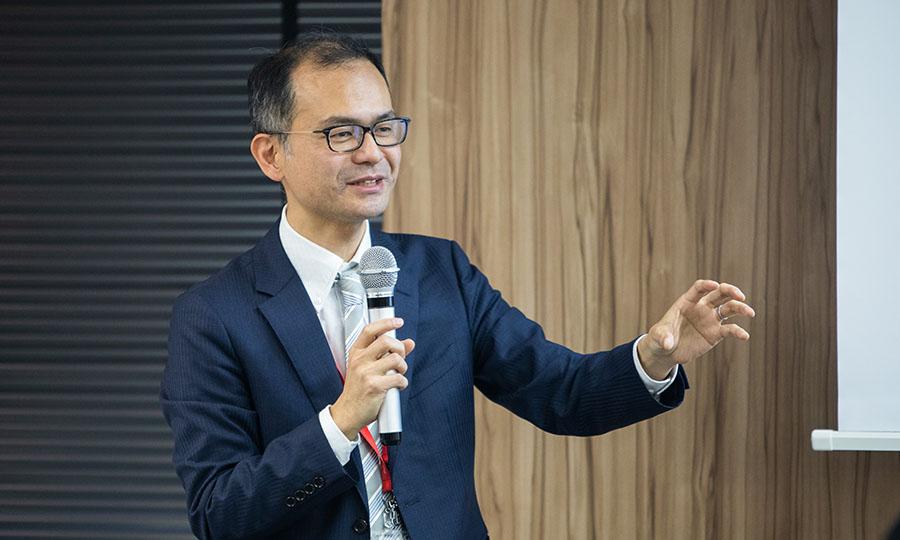 北里大学 医学部 公衆衛生学 講師 江口 尚 氏