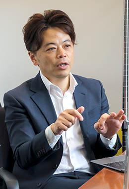 福山 耕介氏()ワークスモバイルジャパン株式会社 執行役員 法人ビジネス事業部長福山 耕介氏