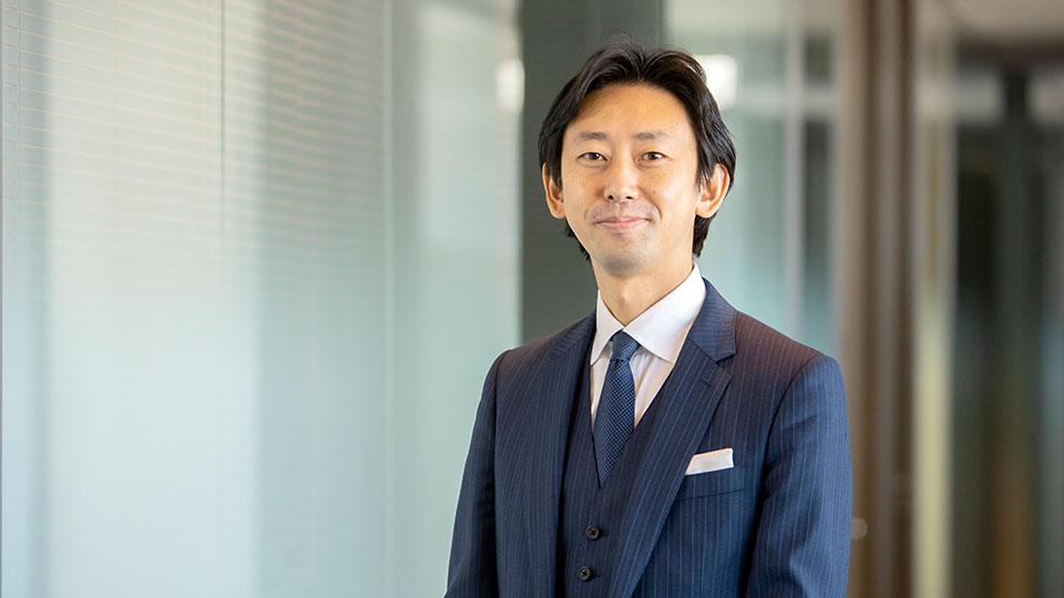 小仁聡さん(ユームテクノロジージャパン株式会社 ビジネスプロデューサー)