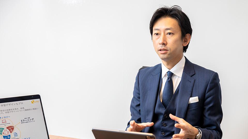 小仁 聡さん(ユームテクノロジージャパン株式会社 ビジネスプロデューサー)