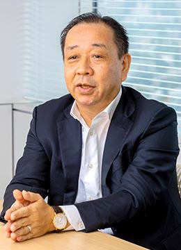 鳥越慎二さん(株式会社アドバンテッジリスクマネジメント 代表取締役社長)