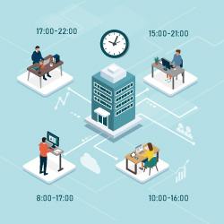 テレワークなど「働き方の多様化」が進む時代<br /> 柔軟で効率的な勤怠管理を実現するポイントとは