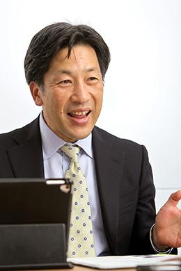 丸紅株式会社 人事部 部長 鹿島浩二さん