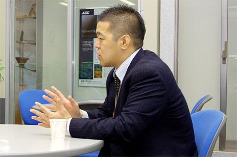 新日軽株式会社 人事部 採用・教育担当課長 大島章嗣さん