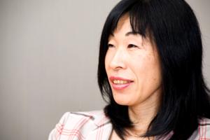 人財・組織戦略部 部長 アキレス美知子さん