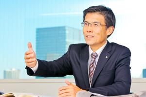 管理本部 人事部 人材開発課 課長 川口 輝裕さん