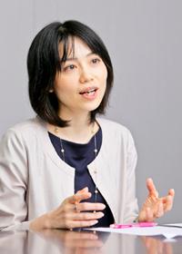 丸紅株式会社 人事部 ダイバーシティ・マネジメントチーム チーム長補佐 許斐理恵さん