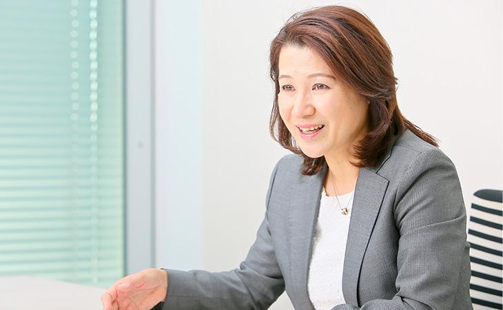 河辺恵理さん 株SCSK株式会社 執行役員 人事グループ副グループ長