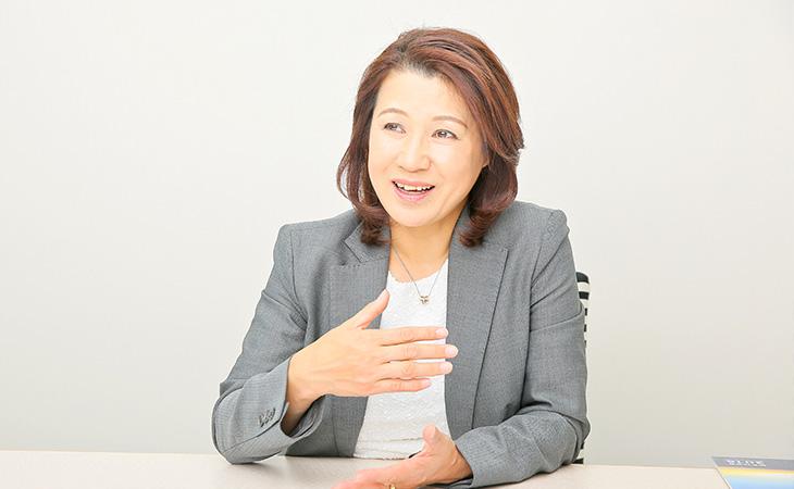 河辺恵理さん SCSK株式会社 執行役員 人事グループ副グループ長