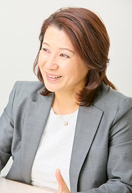 河辺恵理さん インタビュー風景