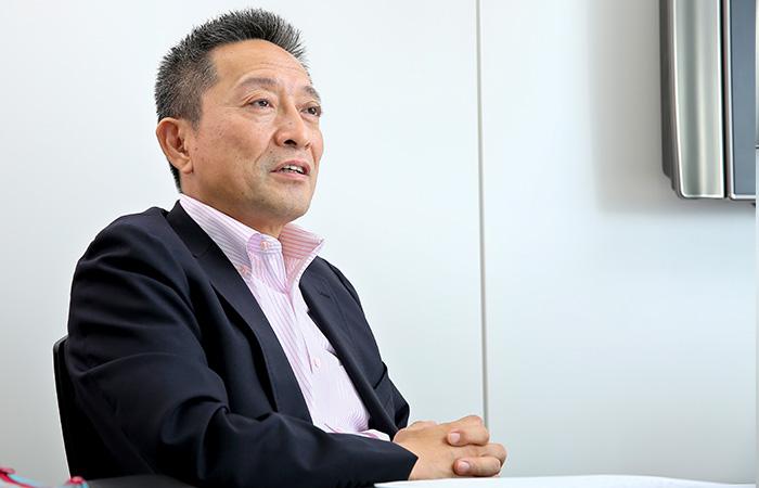 帝人株式会社 藤本治己さん Photo