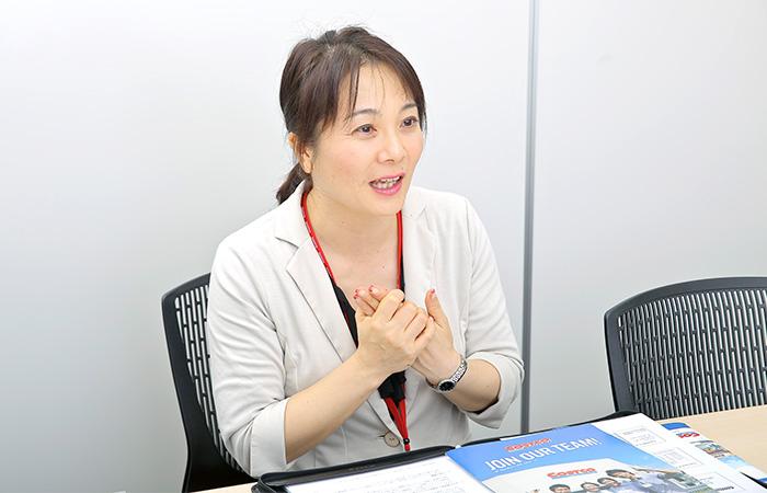 コストコ ホールセール ジャパン株式会社 山口恭子さん