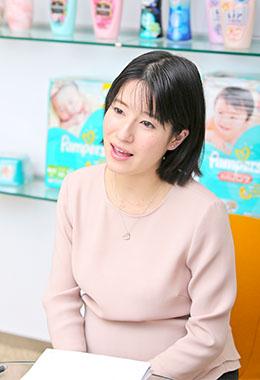 プロクター・アンド・ギャンブル・ジャパン株式会社 ヒューマン・リソーシス マネージャー 小川 琴音さん