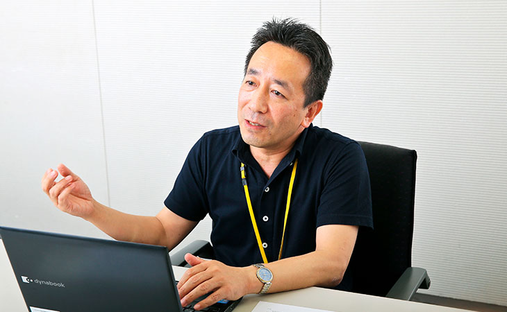 NTTコミュニケーションズ株式会社 ヒューマンリソース部 人事・人材開発部門 担当課長 浅井 公一さん