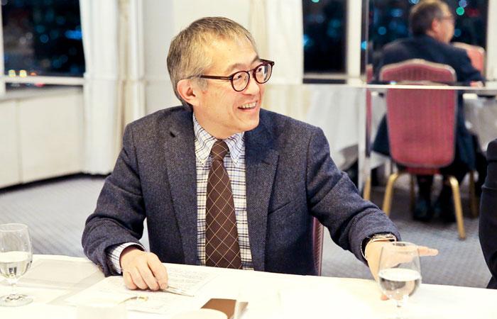 株式会社ミスミグループ本社  グループ統括執行役員 人材開発統括 有賀 誠さん photo