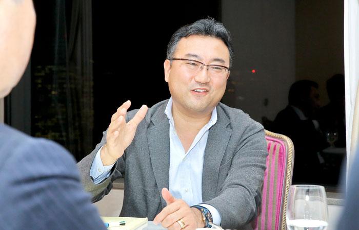 楽天株式会社 常務執行役員 人事・総務担当役員 杉原章郎さんphoto