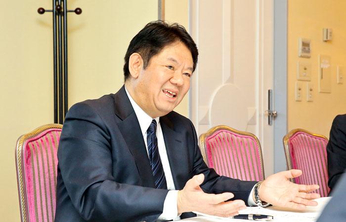 武田薬品工業株式会社 グローバルHR グローバルHRBPコーポレートヘッド 藤間美樹さんphoto