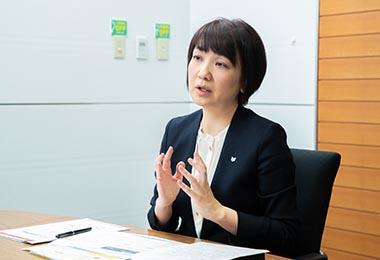 須藤由紀さん(キヤノン株式会社 人事本部 人材・組織開発センター 人材開発部長)