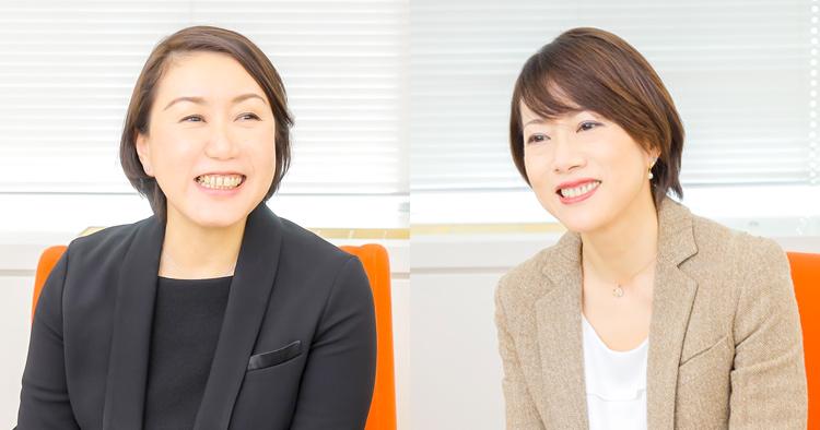 株式会社ジュピターテレコム 味方恵子さん、中野真理子さん 写真