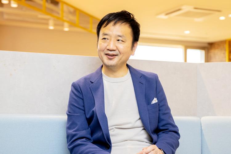 三井情報株式会社 戸部雅之さん インタビューの様子