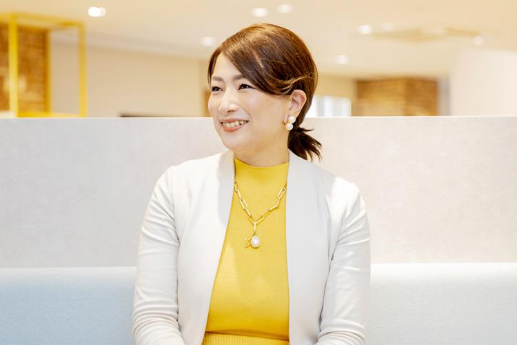 三井情報株式会社 山田美夏さん インタビューの様子