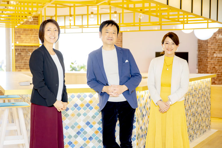 三井情報株式会社 戸部雅之さん 山田美夏さん 世良真理さん 写真