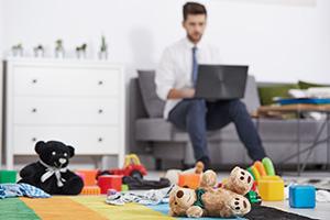 """""""在宅勤務""""は転職事情をどう変えるかイメージ写真"""