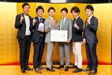 優勝チームの株式会社セントメディア様 Photo