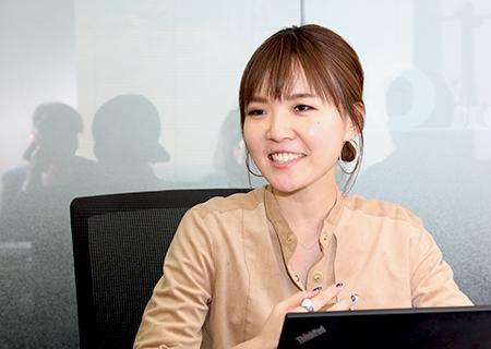 テンプホールディングス株式会社 山崎涼子さん
