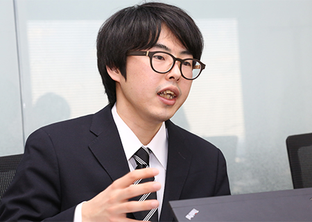 テンプホールディングス株式会社 小川翔平さん