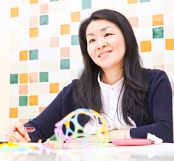 コクヨ株式会社 人材開発部  ダイバーシティー推進リーダー 赤木由紀さん