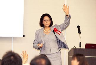 第2部 中原 孝子氏(ASTDグローバルネットワークジャパン会長)講演 Photo