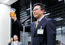 新年交流会 株式会社HRアドバンテージ代表取締役社長 相原孝夫氏 写真