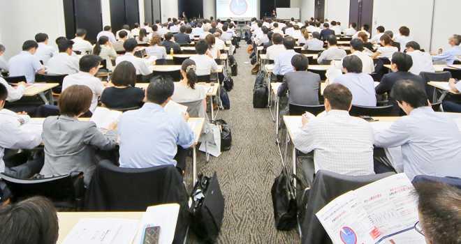 日本の人事部「HRカンファレンス2013-秋-」出展説明会の様子