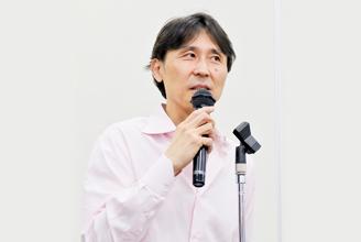 安田佳生氏によるごあいさつ