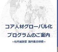 グローバル人材育成プログラムの決定版!コア人材グローバル化プログラム