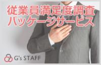 従業員満足度調査パッケージサービス(WEB版) ご紹介チラシ