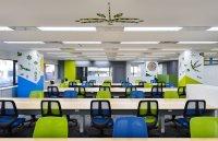 【壁を変えるだけで、オフィスが変わる】未来のオフィスの新定番。オフィス壁にアートを/説明リーフレット