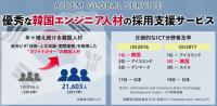 優秀な韓国エンジニア人材の採用支援サービス・成果報酬型